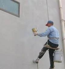 仿石涂料真石漆施工如何防掉砂?