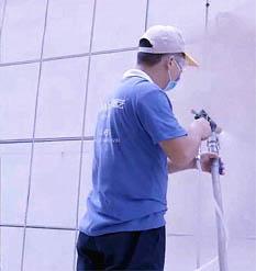 真石漆施工如何減少材料耗損?